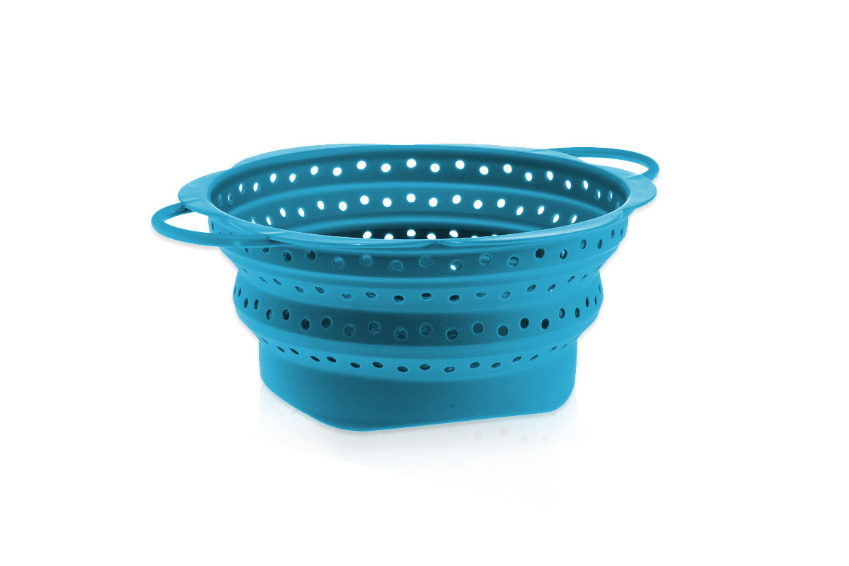 ί Foldable Sieve Large Blue
